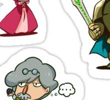 Castelia Group Sticker Set Sticker