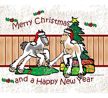 Gypsy Cob Christmas Card 2 by Diana-Lee Saville