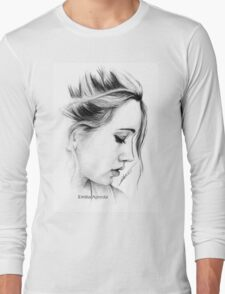 Bea Miller Pencil Sketch Long Sleeve T-Shirt