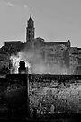 Lazy morning smoke, Matera, Basilicata, Italy by Andrew Jones