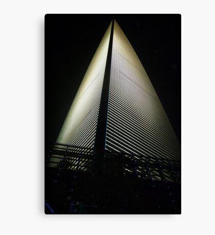 Shanghai World Financial Center Canvas Print