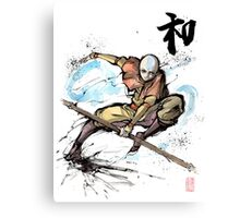 Aang from Avatar TV series Canvas Print