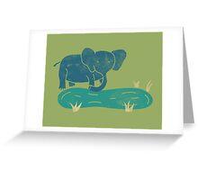 Elephant Life Greeting Card