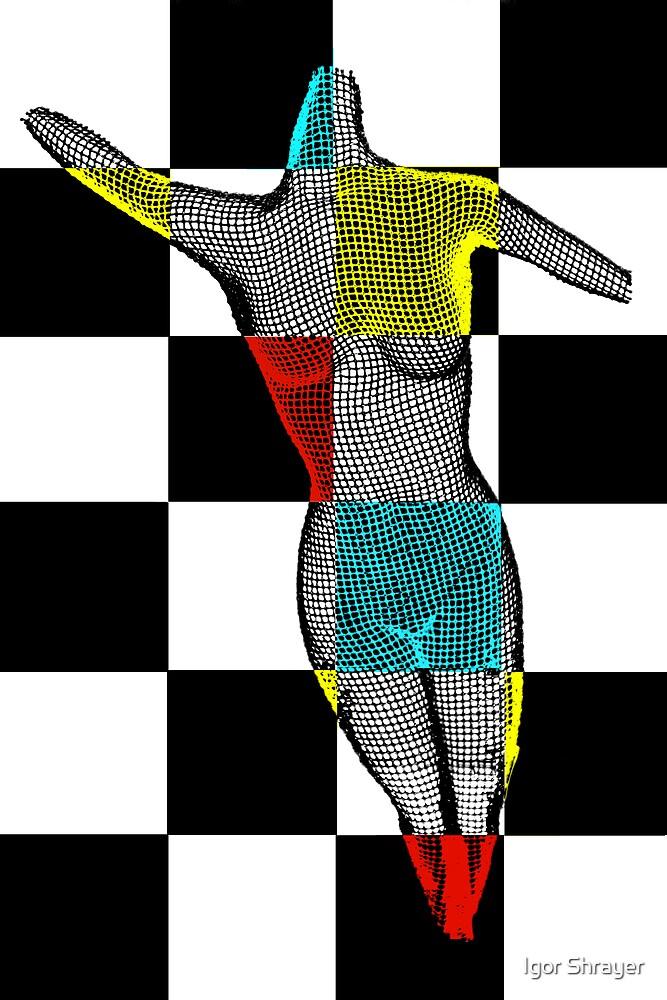 Body Art in Black and White by Igor Shrayer