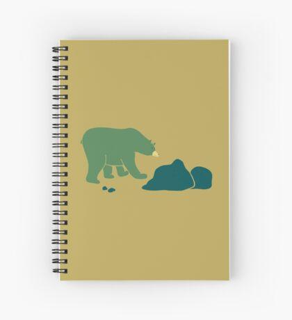Bear Walks Spiral Notebook