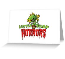 LITTLE SHOP Greeting Card