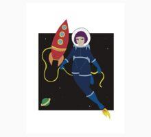 Space Girl Baby Tee
