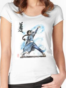 Katara from Avatar TV series Women's Fitted Scoop T-Shirt