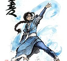 Katara from Avatar TV series by Mycks