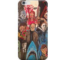 70s/80s Horror iPhone Case/Skin