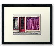 Oriental Tea Saloon Framed Print