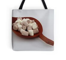 Marshmallow anyone? Tote Bag