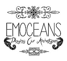 EMOCEANS Merch - Flat Photographic Print