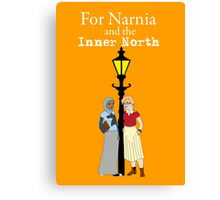 For Narnia and the Inner North Canvas Print