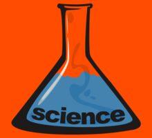 Science Beaker Blue by LudlumDesign