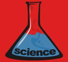 Science Beaker Blue One Piece - Long Sleeve