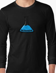 Science Beaker Blue Long Sleeve T-Shirt
