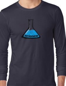 Science Beaker Blue Long Sleeve T-Shirt