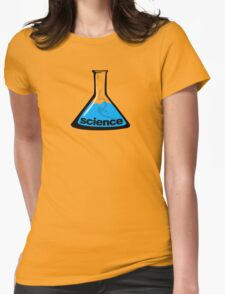 Science Beaker Blue Womens T-Shirt