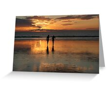 Reflective Silhouette Greeting Card