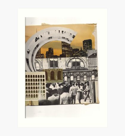 the urban peoples rainbow' Art Print