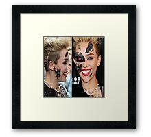Miley Cyborg Framed Print