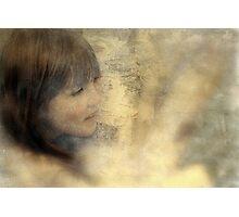 """As She Peeked Around the Tree..."" Photographic Print"