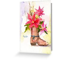 Merry Christmas from Texas Greeting Card