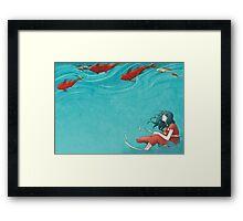 Koi Framed Print