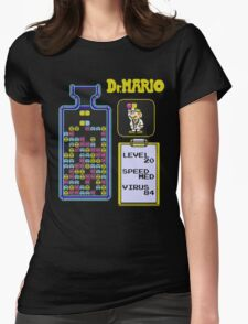 Dr.Mario NES Womens Fitted T-Shirt