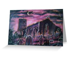 'All Hallows, Great Mitton, Lancashire' Greeting Card