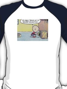 Charlie Brown Vinyl Record Collection T-Shirt