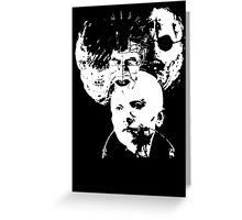 Hellraiser Icons Greeting Card