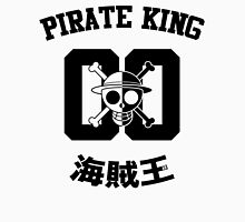 "One Piece Monkey D. Luffy ""Pirate King"" Shirt Black Version T-Shirt"