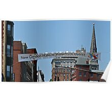 New London Historic Waterfront District  Poster
