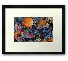 Alien Sunrise Framed Print
