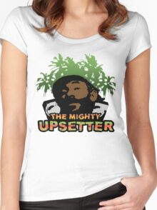 Lee Scratch Perry Reggae Dub Women's Fitted Scoop T-Shirt