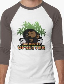 Lee Scratch Perry Reggae Dub Men's Baseball ¾ T-Shirt