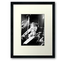 Rockin' Trombone Framed Print