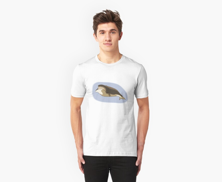 Humpback Whale T_shirt by Walter Colvin