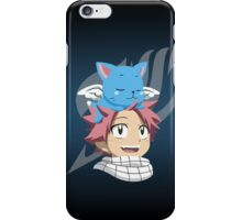 Natsu and Happy iPhone Case/Skin
