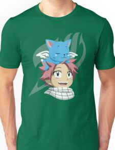 Natsu and Happy Unisex T-Shirt