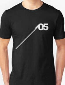 Number #05 (White). T-Shirt