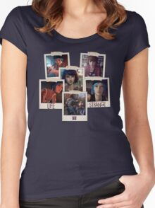 Life Is Strange - Photo Collage Women's Fitted Scoop T-Shirt
