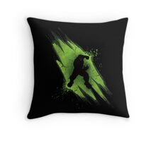 Power of Anger Throw Pillow