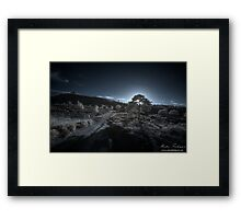 Caesars Camp Sunset Framed Print