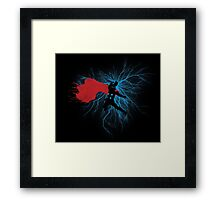 Power of Thunder Framed Print