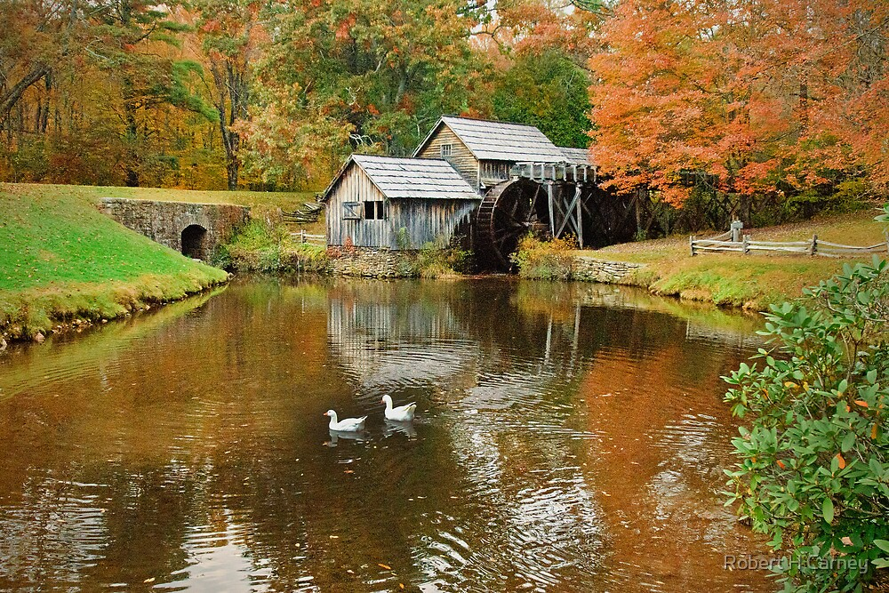 Old Mabry Mill by Robert H Carney