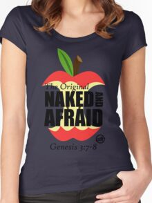 The Original Naked and Afraid Women's Fitted Scoop T-Shirt