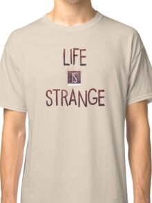 Life Is Strange Logo (2) Classic T-Shirt